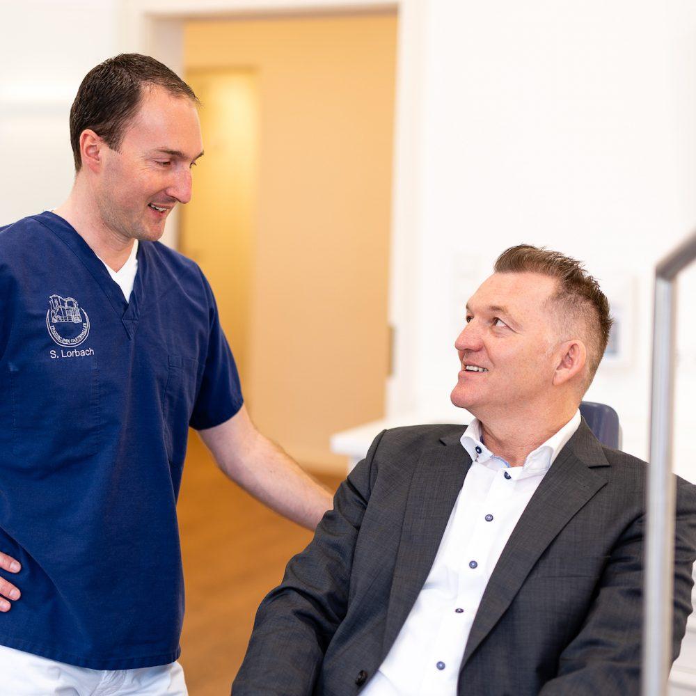 Praxis Gartenallee für MKG-Chirurgie & Oralchirurgie - Patient