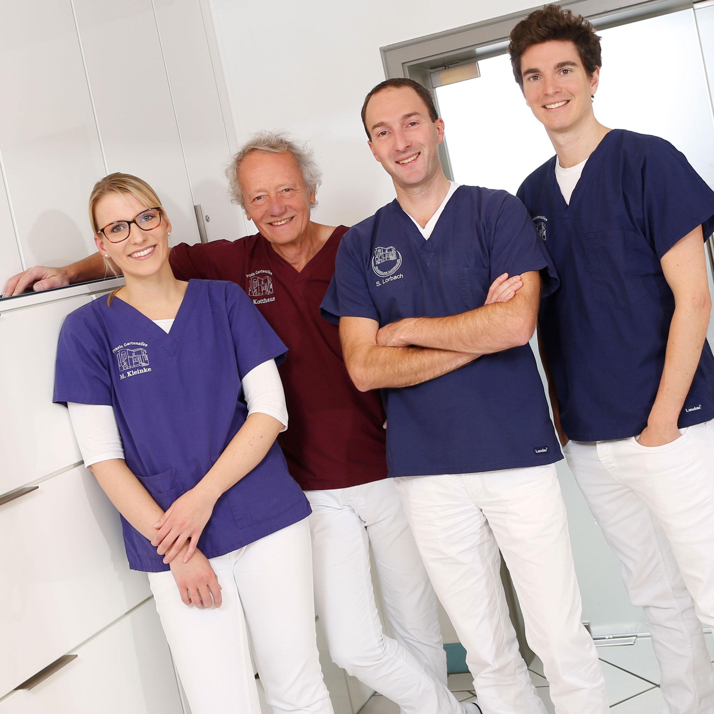 Praxis Gartenallee für MKG-Chirurgie & Oralchirurgie - Team